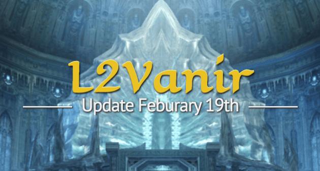 Update Feburary 19th