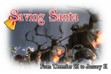 Saving Santa Event
